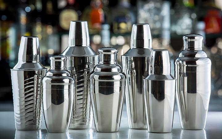 TableCraft 377 Stainless Steel 28 Ounce Shaker