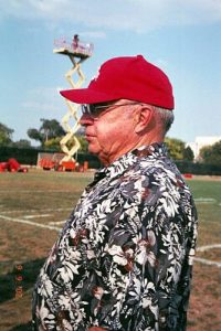 Ohio State University Football Coach Earle Bruce