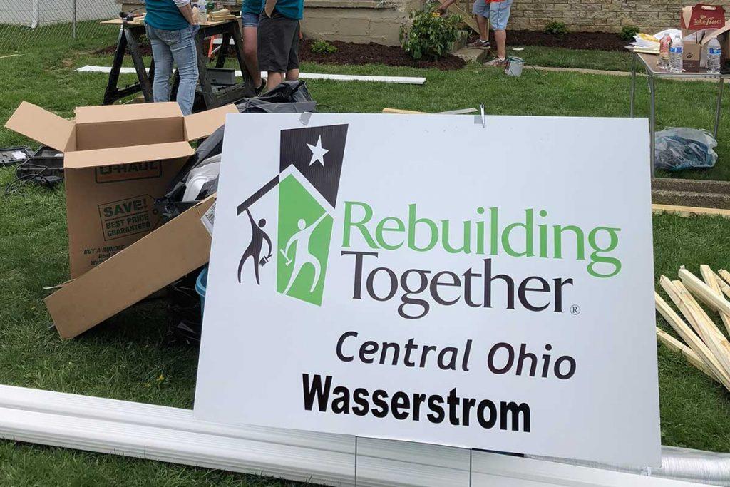 Rebuilding Together - A day of volunteerism