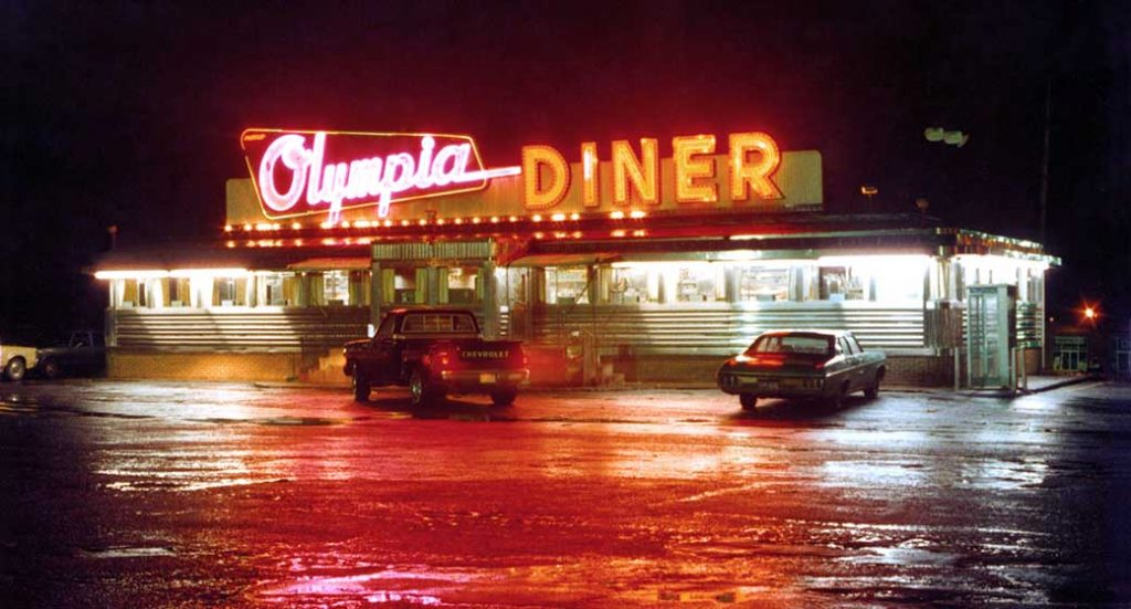 The Olympia Diner - One of hundreds of diners photographed by Larry Cultrera