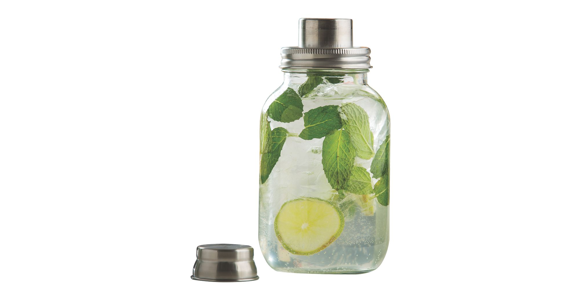TableCraft Products MJS30 Mason Jar 30 Ounce Cocktail Shaker