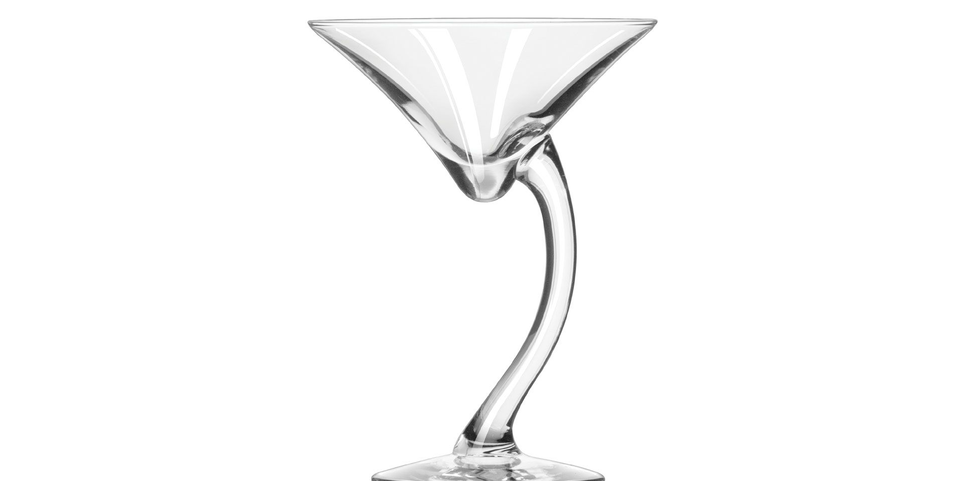 Libbey® 7700 Clear 6.75 Ounce Bravura Martini Glass - 12 / CS