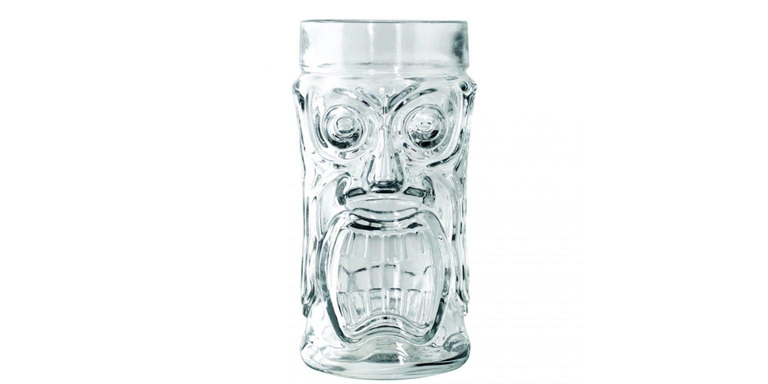 Anchor Hocking 10024 16 Ounce Screaming Tiki Glass - 24 / CS