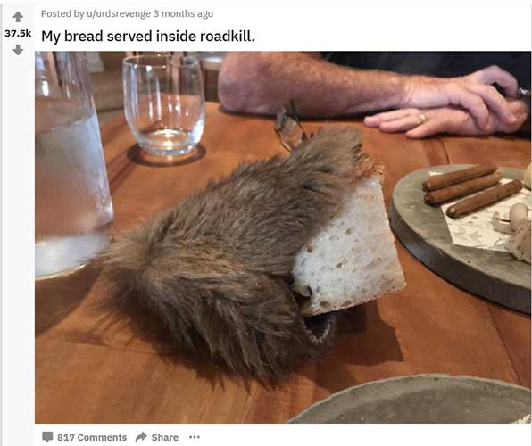 From Reddit's r/WeWantPlates - An example of novelty taken too far perhaps?