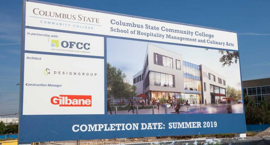 Breaking Ground on the new Culinary Arts building at Columbus State Community College