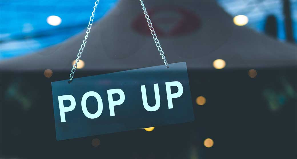 What is a Pop Up Restaurant?