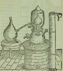 A rendering of the origin of a bain marie