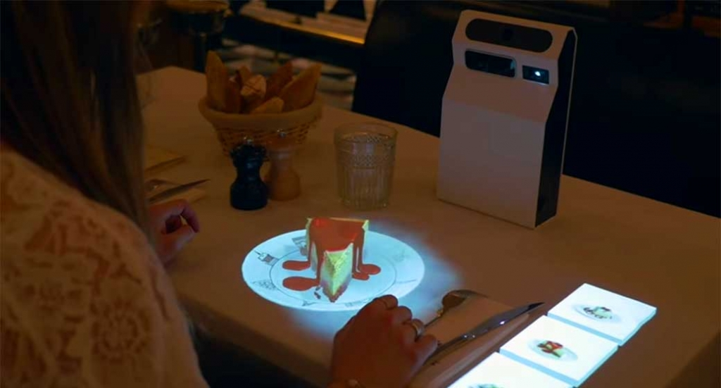 Is a holographic restaurant menu the future? Or just a neat party trick?