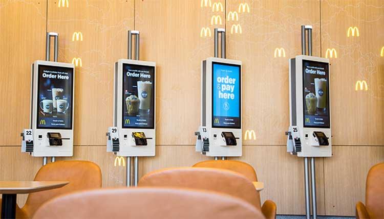 McDonald's touchscreen kiosks. Spoiler alert: Probably also covered in fecal bacteria.