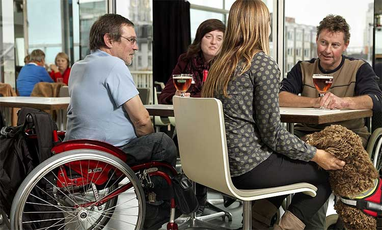 Creating accessible inside spaces is critical to creating an ADA compliant restaurant