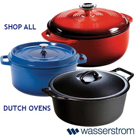 Shop all dutch ovens available from Wasserstrom!