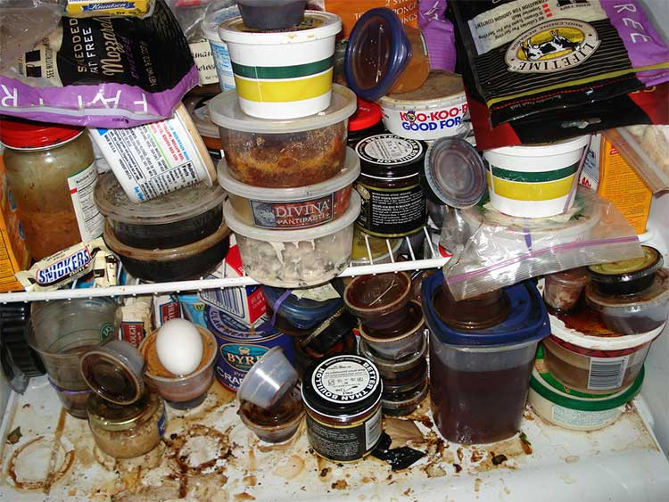 A messy refrigerator can cost you time, money and even jeopardize your food safety.