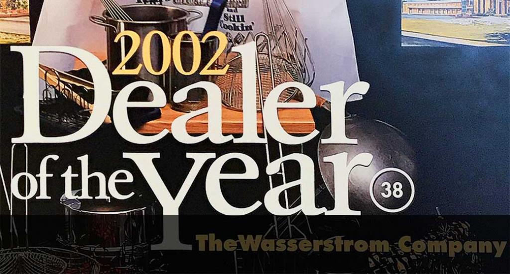 Wasserstrom becomes the first two time winner of the Dealer of the Year Award in 2002