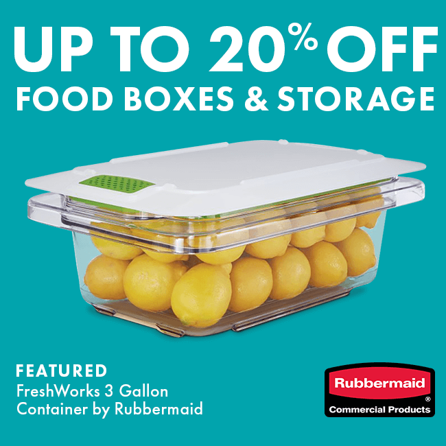 Up To 20% Off Food Boxes & Storage Containers