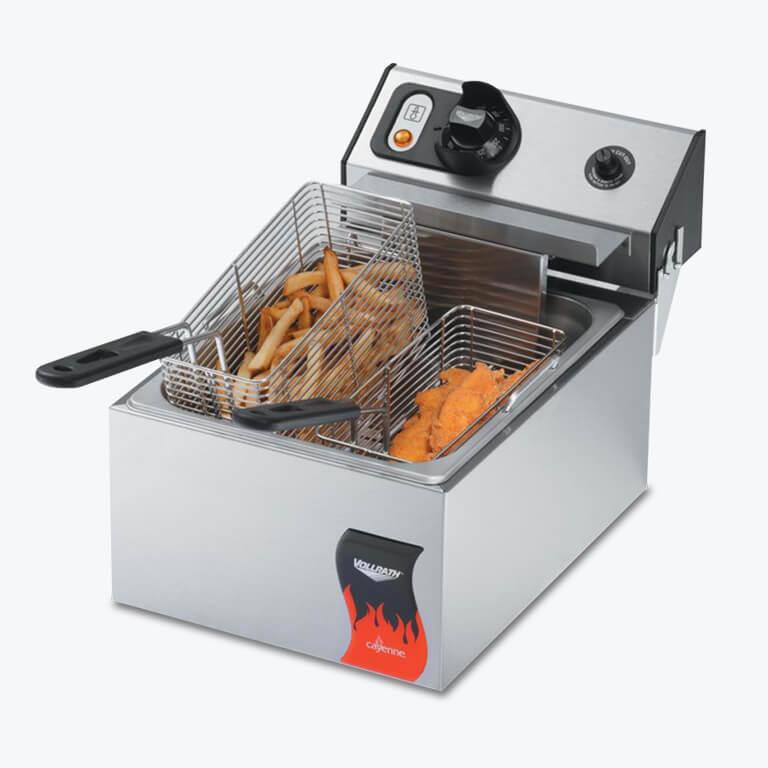 commercial countertop fryer