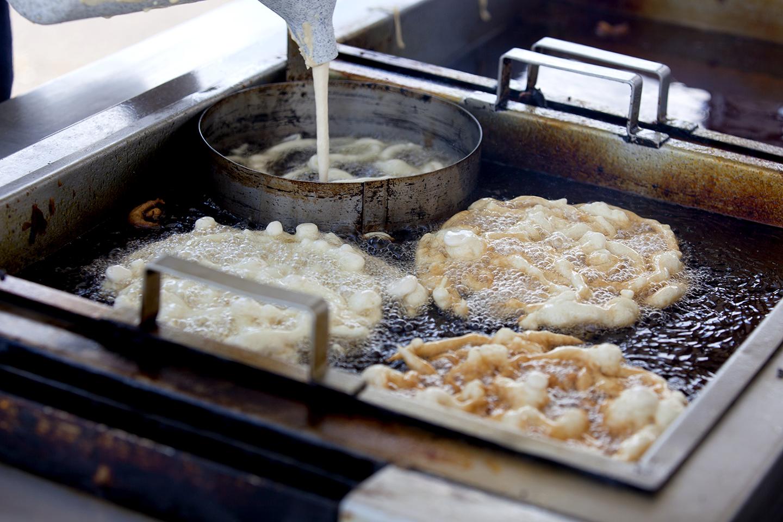 commercial funnel cake fryer