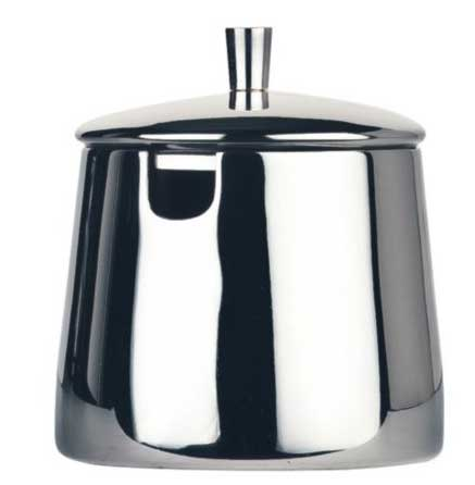 A traditional holloware sugar bowl from World Tableware.