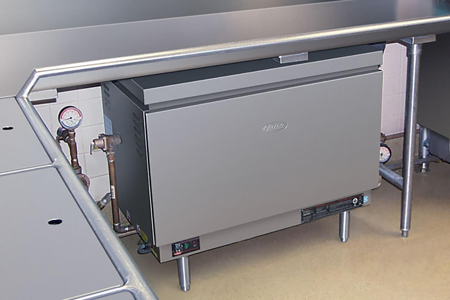 Under Counter Booster Heater