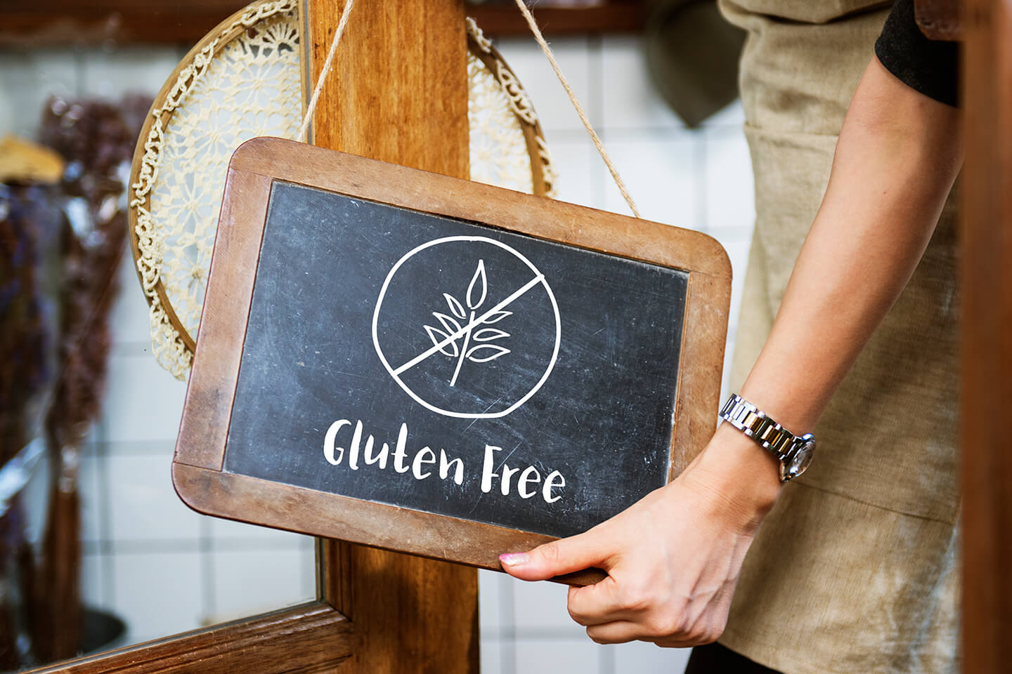 Gluten-free diets have become commonplace among restaurant customers.