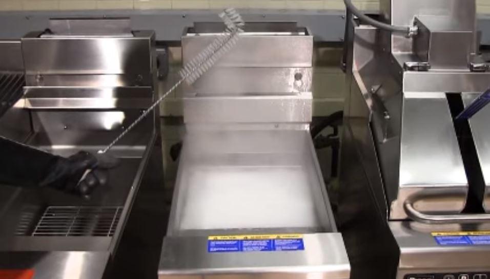 Fryer Boil Out Procedure