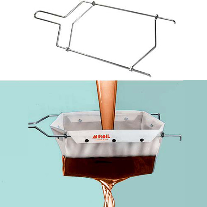 fryer oil filter bag