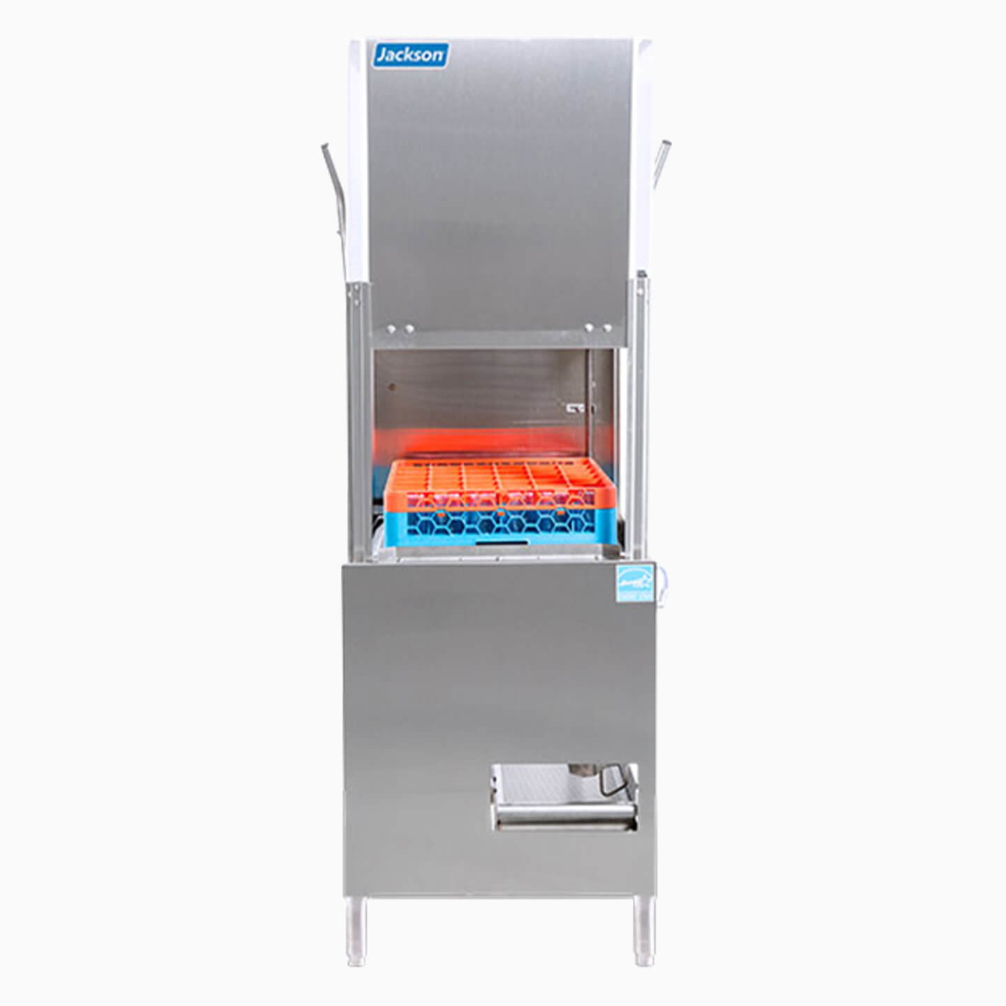 Door style commercial dishwasher