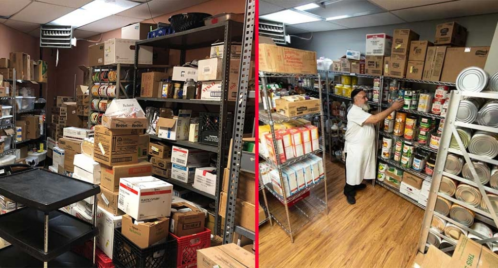 The Columbus Jewish Community Center wins Kitchen Storage Makeover Contest from Metro