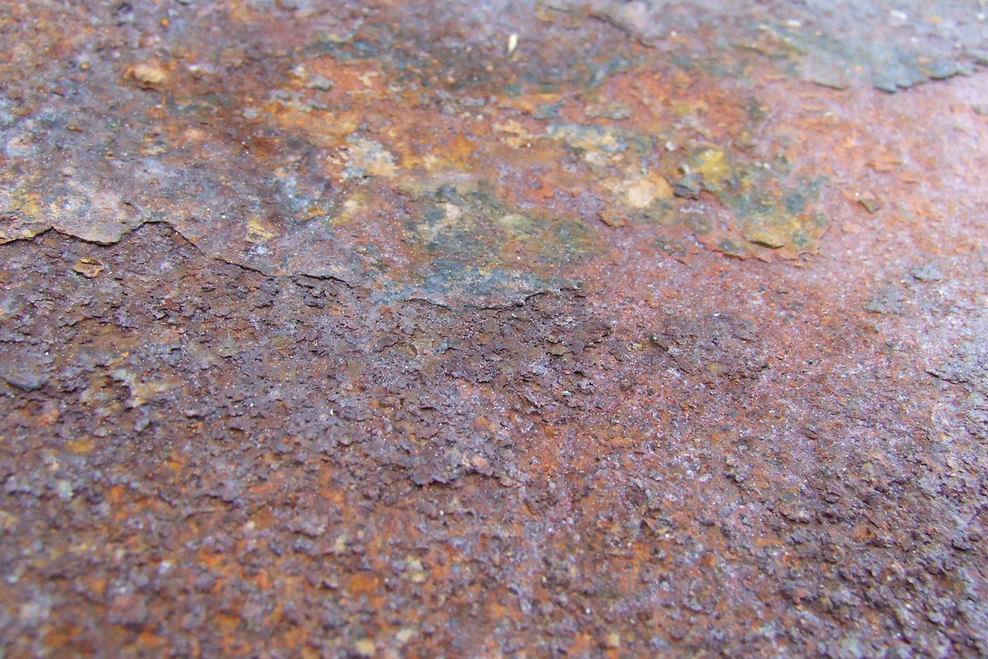 Allows containing iron are always at risk for corrosion