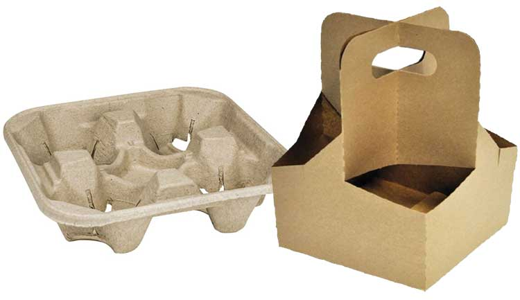 Drink carriers are both useful and helpful for customers and delivery drivers.