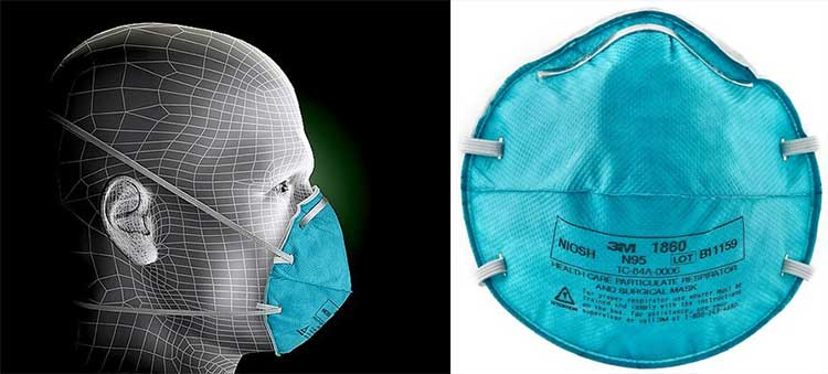 N95 Respirators for medical use are probably overkill for most restaurant and foodservice workers.