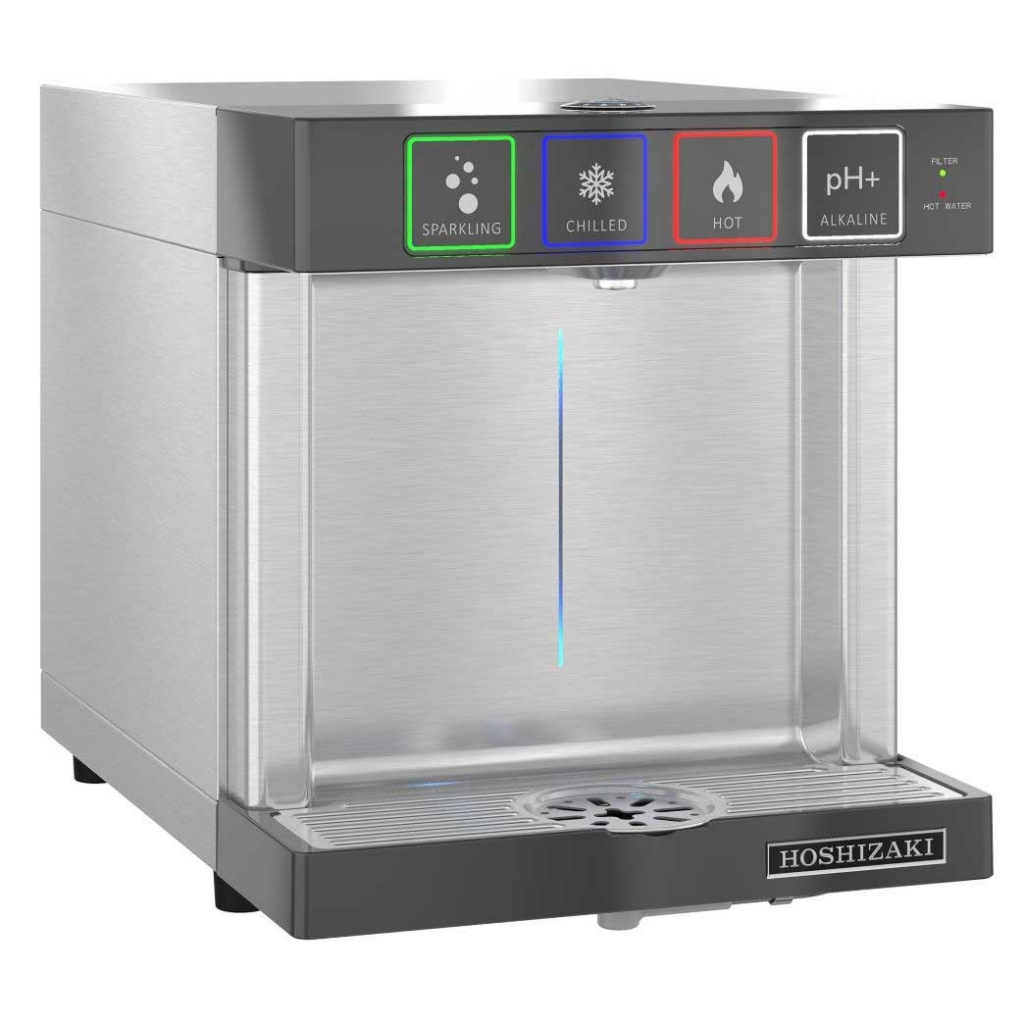 The touchless Hoshizaki Modwater dispenser gives us a glimpse at the future of beverage dispensing.