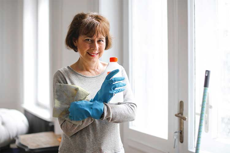 Create a plan for deep cleaning before you think you will need it.