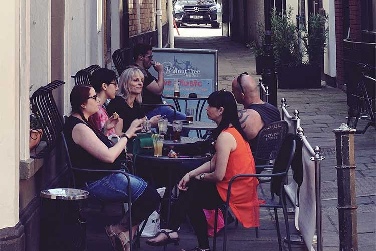 Using outdoor space for seating takes planning but can expand a restaurant's options.