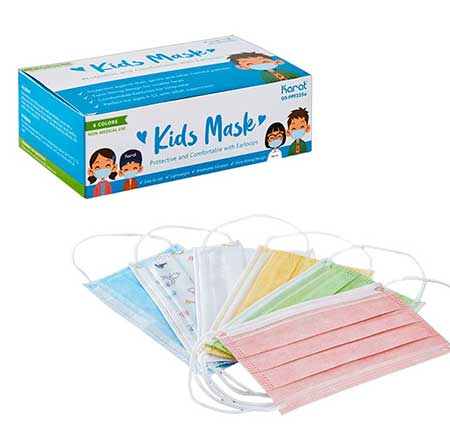 Kid Size 3-Ply Disposable Masks