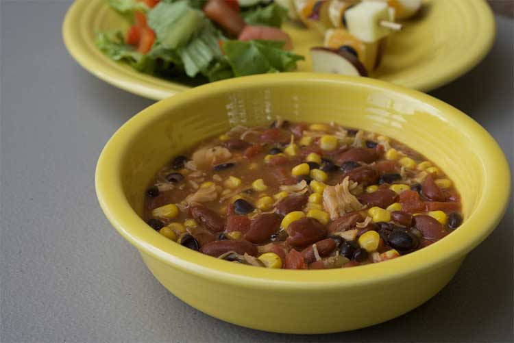 A hearty Chicken Tortilla Soup is one example of the recipes that families will learn to make during this program.