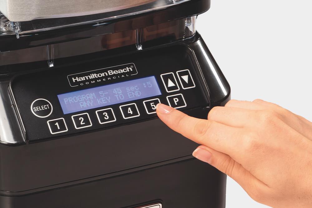 High-performance beverage blender with preset programs.