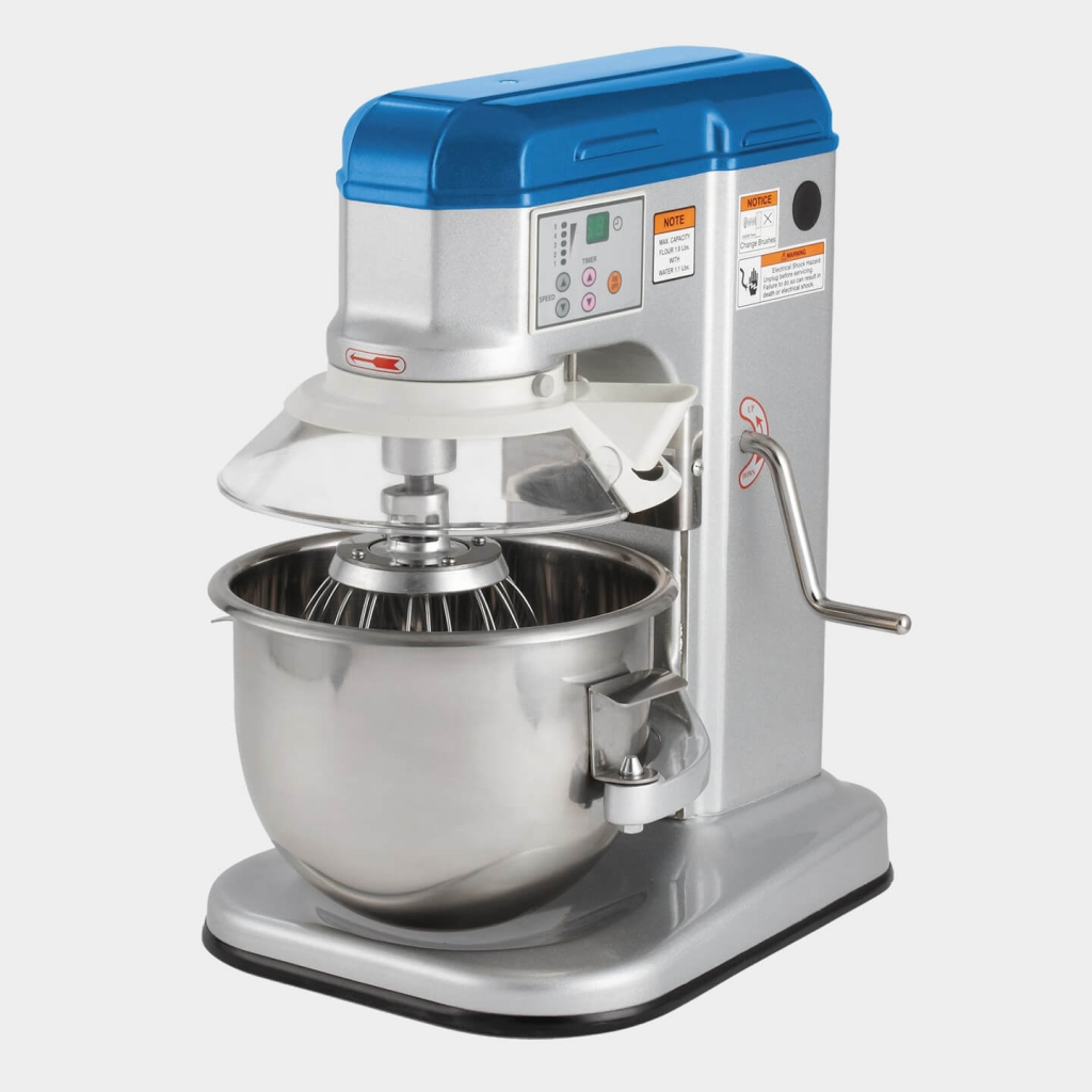 Vollrath's 7-Quart, 110- to 120-Volt, Countertop Mixer With Safety Guard, 40755