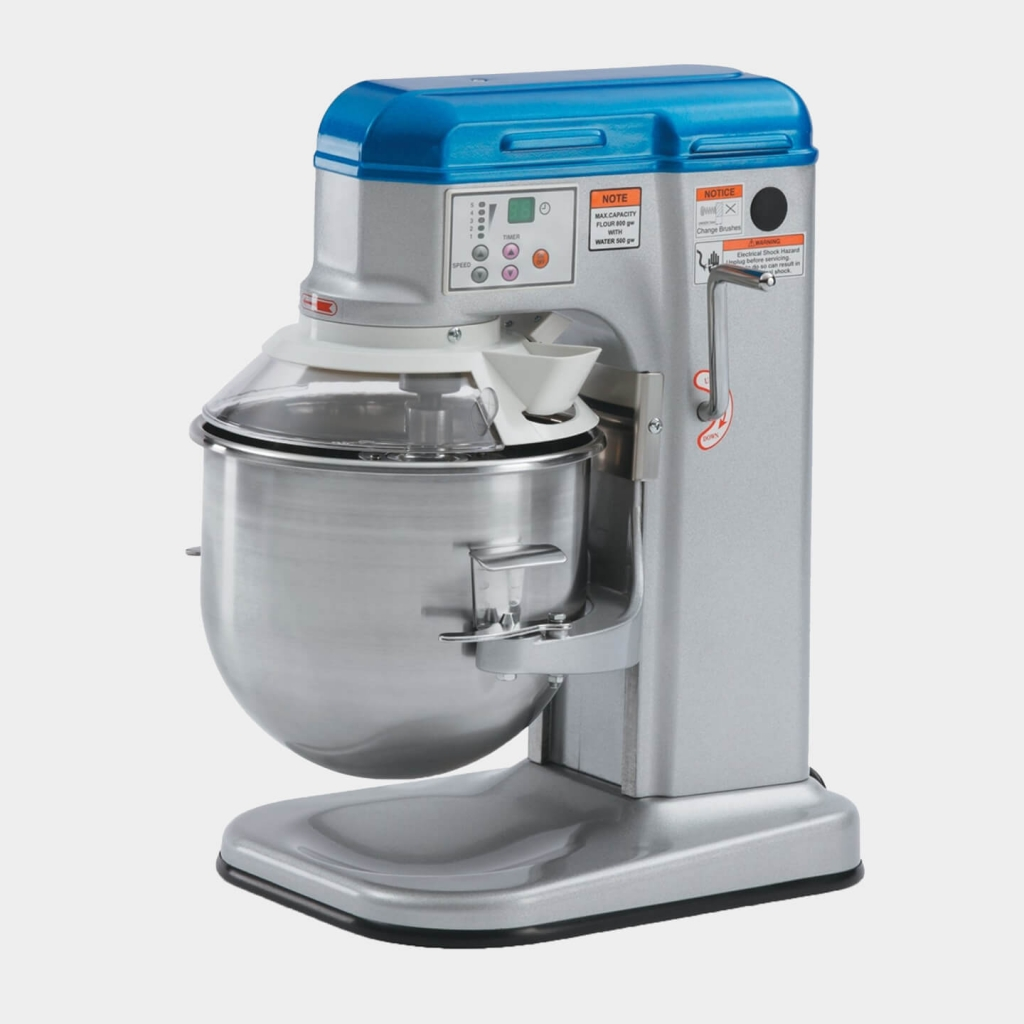Vollrath's 10-Quart, 110- to 120-Volt, Countertop Mixer With Safety Guard, 40756