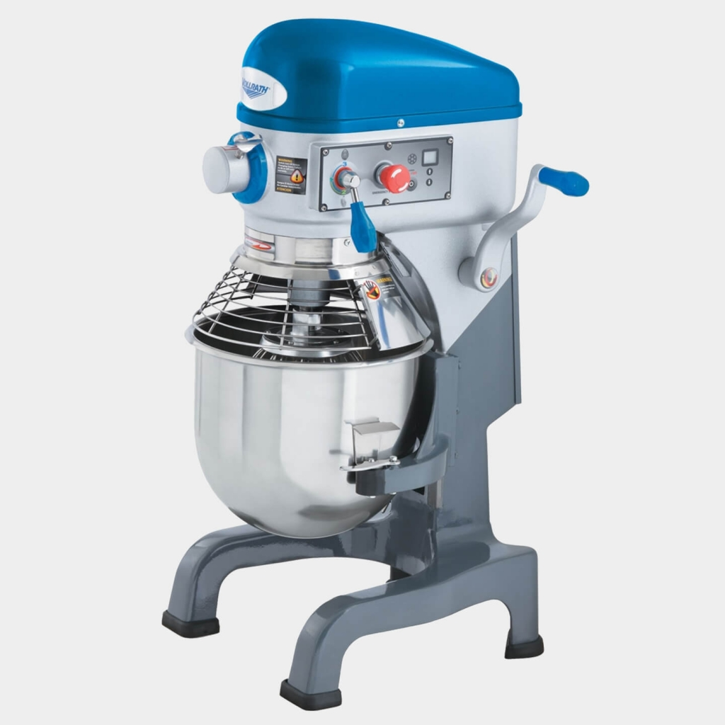 Vollrath's 20-Quart, 110- to 120-Volt, Bench Mixer With Safety Guard, 40757