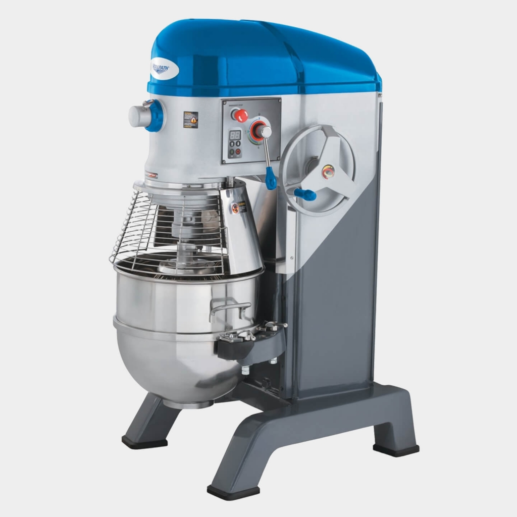 Vollrath's 60-Quart, 208- to 240-Volt Floor Mixer With Safety Guard, 40760