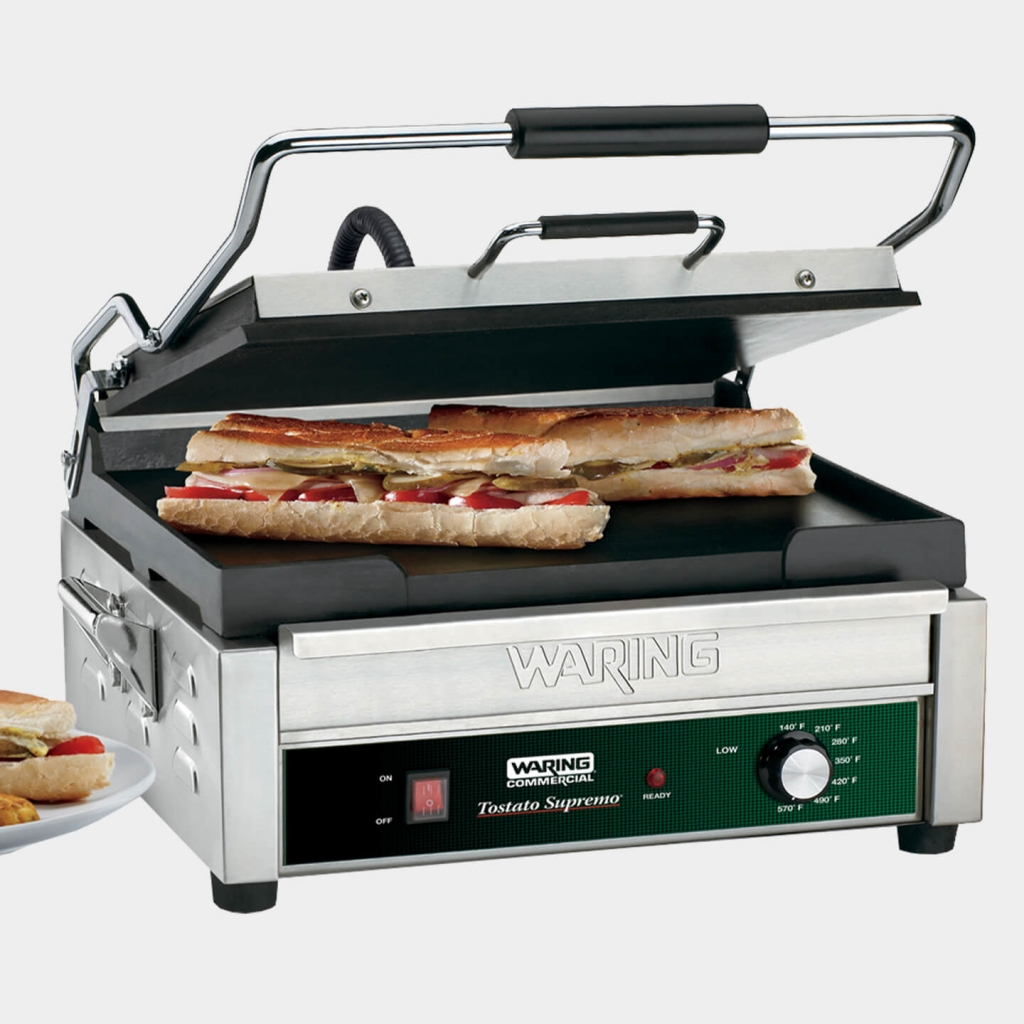 """Full Size 14"""" x 14"""" Flat Toasting Grill, WFG275"""