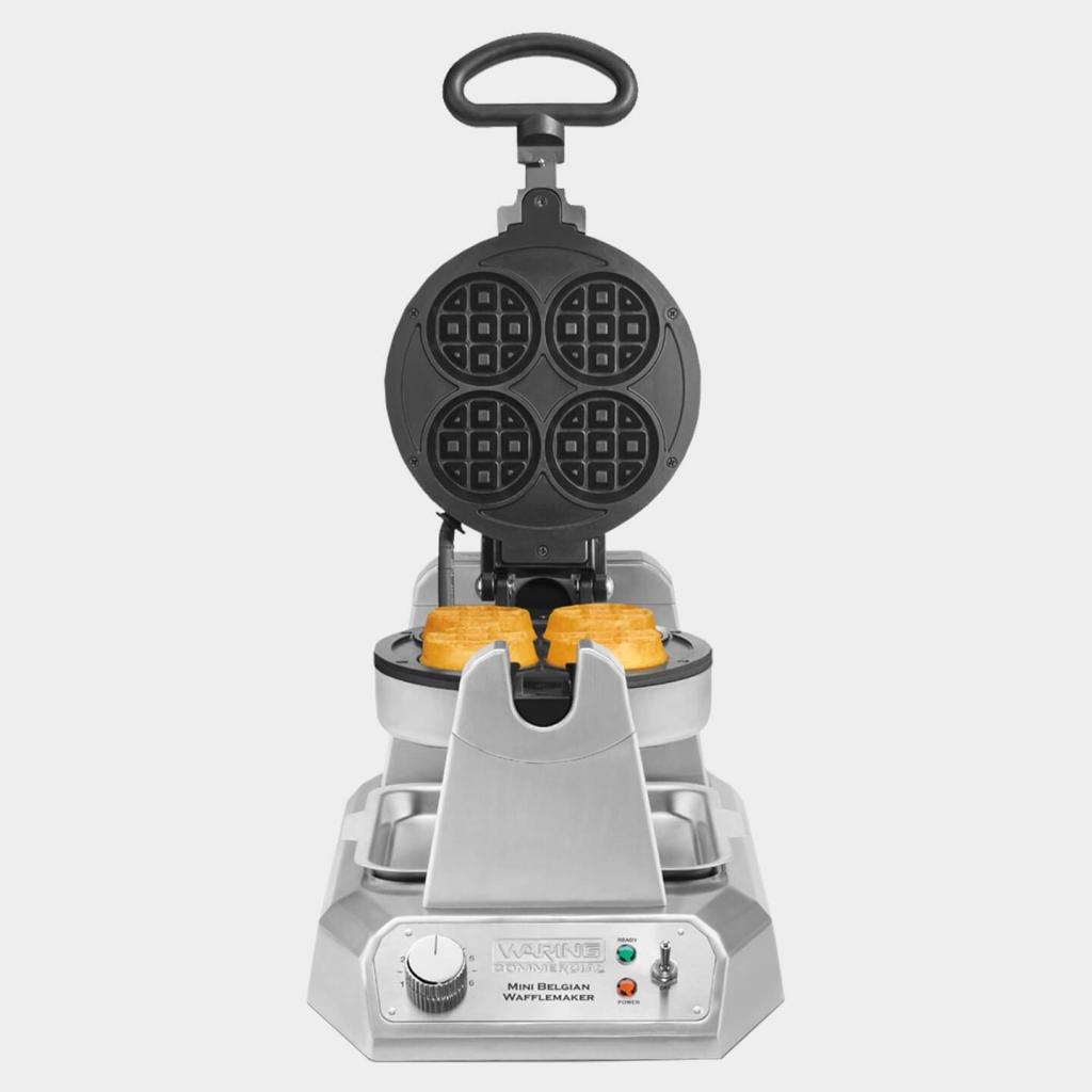 Waring Commercial Mini Belgian Waffle Maker, WMB400X, Commercial Waffle Maker