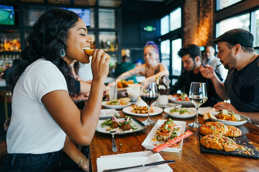 Social eating connects communities.