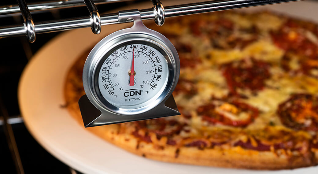 CDN thermometer and pizza