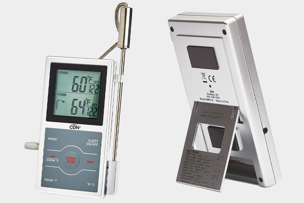 DSP1 probe commercial kitchen thermometer by CDN.
