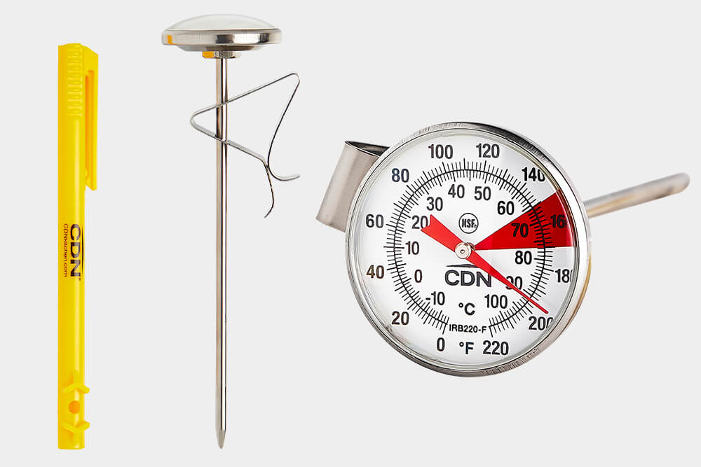 Beverage and Frothing thermometer by CDN