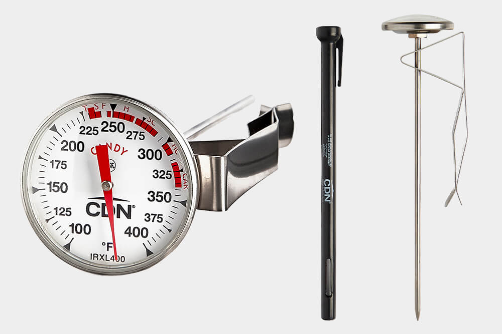IRXL400 candy and deep fry commercial kitchen thermometer by CDN.