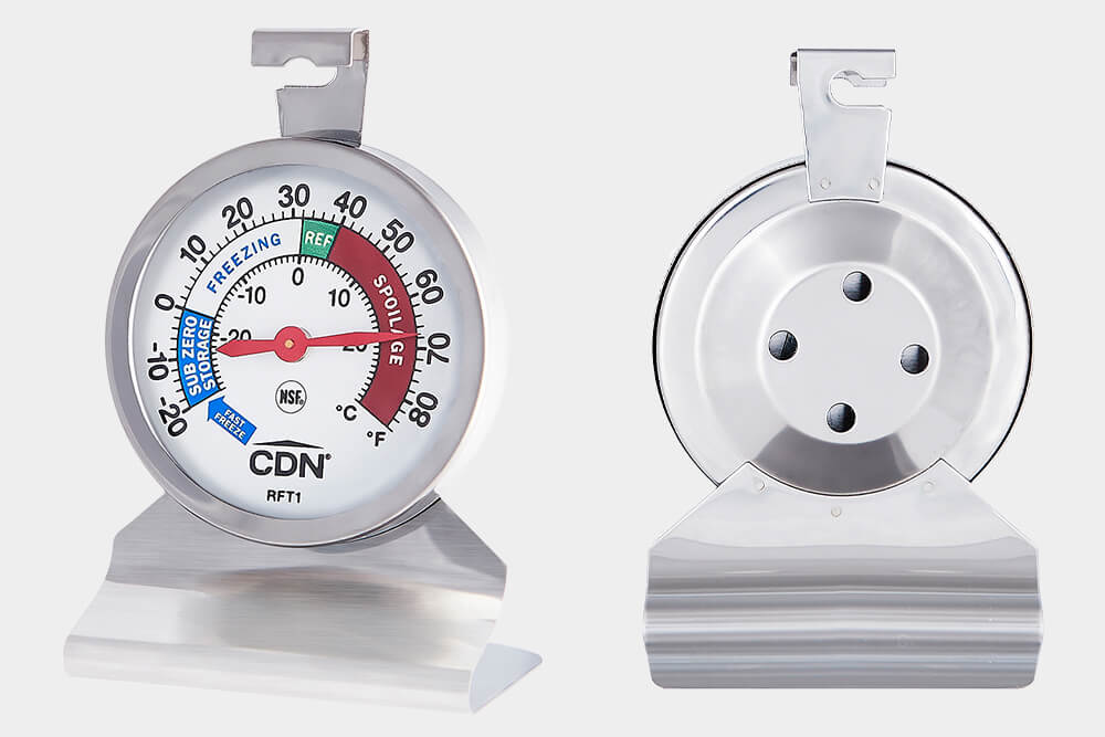 RFT1 refrigerator/freezer commercial kitchen  thermometer by CDN.
