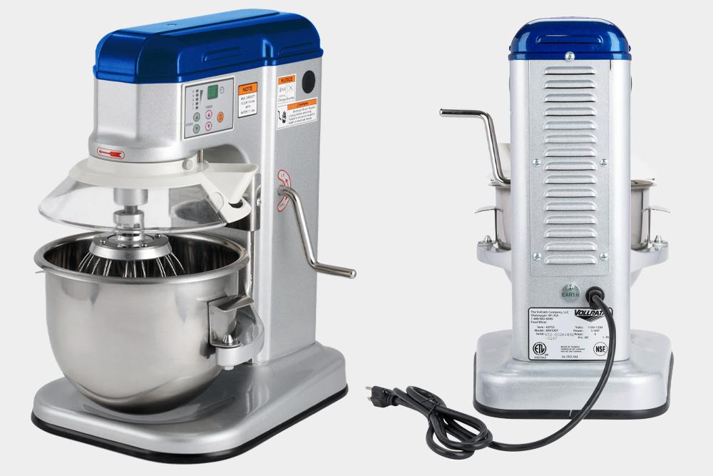 Vollrath countertop mixer for bakeries.
