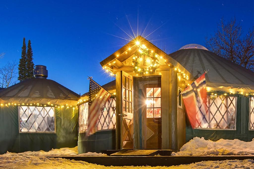 The Viking Yurt.